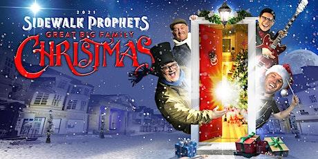 Sidewalk Prophets - Great Big Family Christmas- Manitowoc, WI tickets