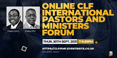 CLF International Pastors and Ministers Forum (Online) biglietti