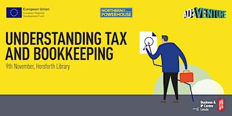 Start-up Leeds: understanding tax and bookkeeping tickets