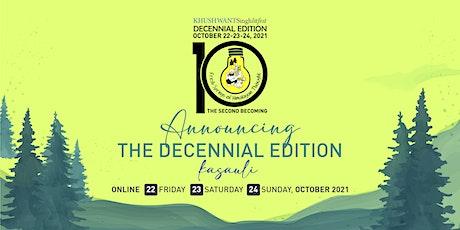 Khushwant Singh Literary Festival - Decennial Edition tickets