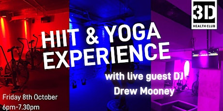 HIIT & Yoga Experience with Live DJ tickets