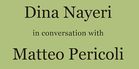 In-Person: Dina Nayeri & Matteo Pericoli at the American Library in Paris billets