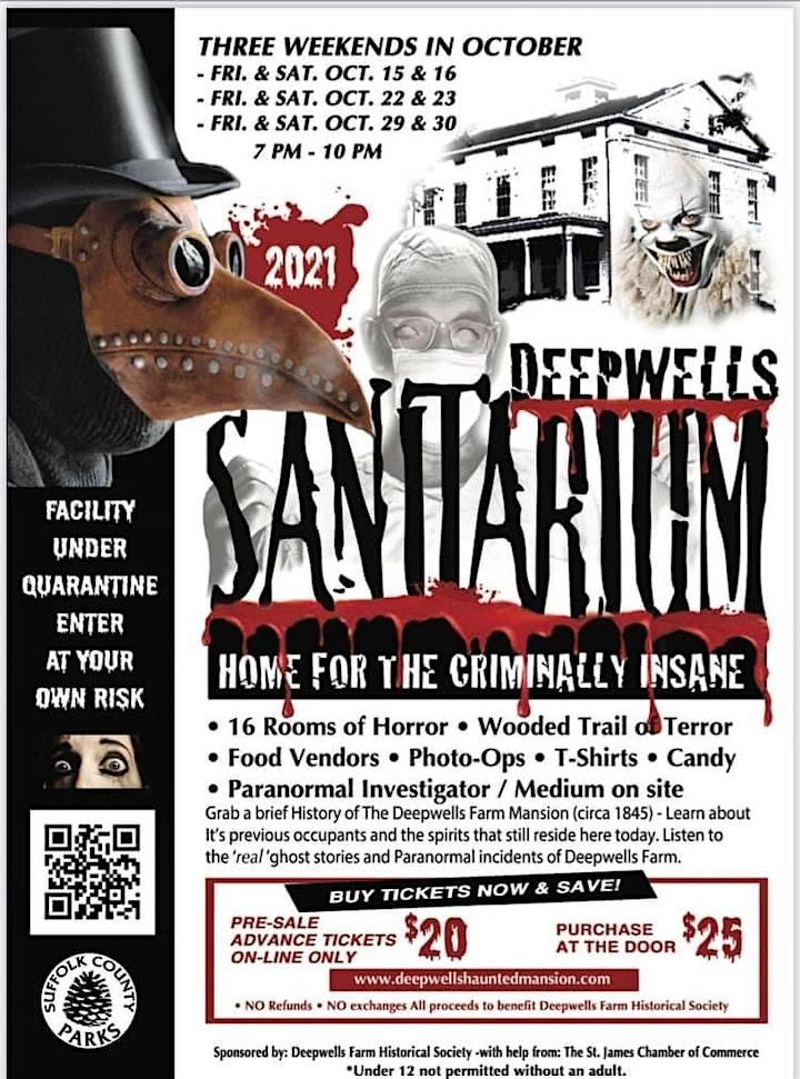 Deepwells  Sanitarium Home For The Criminally Insane  Haunted House image