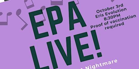 EPA Live! tickets