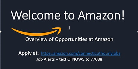 Amazon (Connecticut)- How to complete the application/hiring process tickets