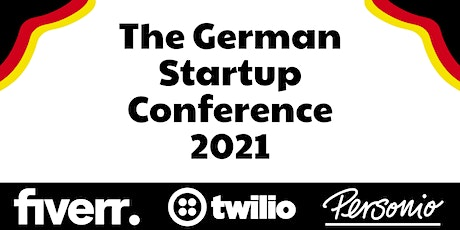 The German Startup Conference 2021 tickets