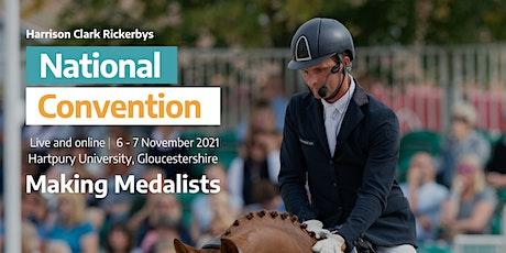 2021 British Dressage National Convention tickets