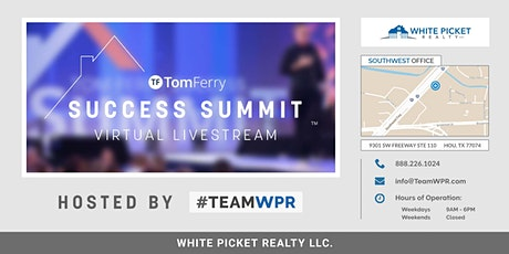 Tom Ferry Summit//Hosted Virtually by #TeamWPR tickets