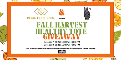 Fall Harvest Healthy Tote Giveaway tickets