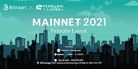 BitMart ✕ Fenbushi Capital Mainnet 2021 Private Event tickets