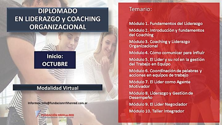 Imagen de DIPLOMADO EN  LIDERAZGO Y COACHING ORGANIZACIONAL