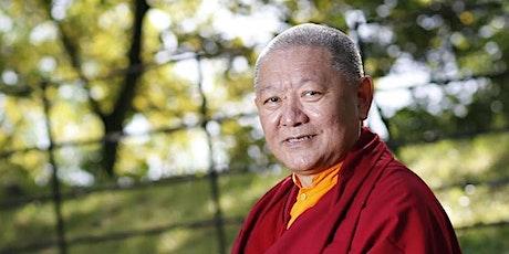 VOR ORT: Ringu Tulku Rinpoche:  Buddhas Idee von spiritueller Gemeinschaft Tickets