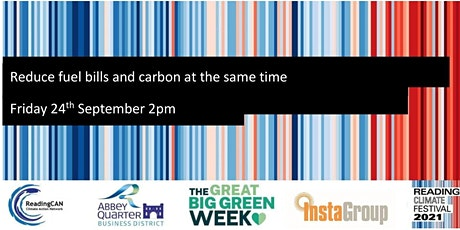Reduce fuel bills and carbon at the same time tickets