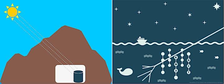 Immagine Studiare l'Universo dalle profondità del mare e della terra