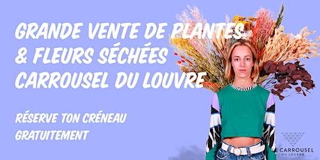 Grande Vente de Plantes - Carrousel du Louvre billets