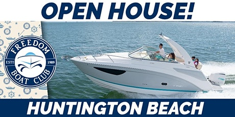 Huntington Beach Open House tickets