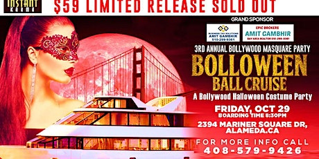 Bolloween Ball Cruise : Third Annual Bollywood Halloween Costume Party tickets