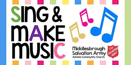 Sing & Make Music! tickets