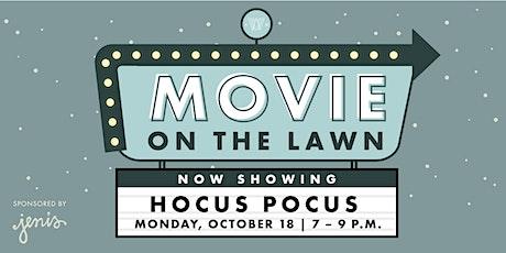 Movie on the Lawn - Hocus Pocus tickets