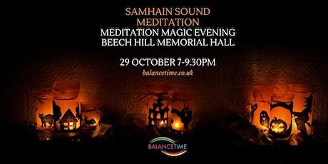 Samhain Shamanic Sound Meditation tickets