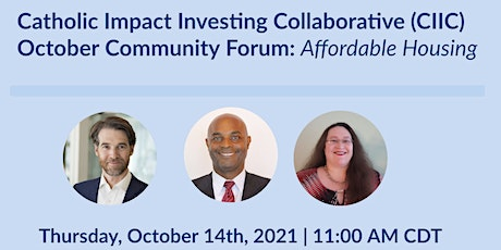 CIIC October Community Forum: Affordable Housing tickets