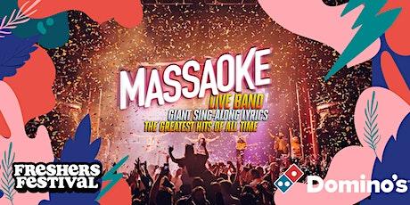 Freshers' Festival '21: MASSAOKE + POLKA DOT DISCO CLUB + MORE(Tue 21 Sept) tickets