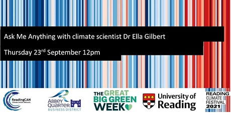 Ask Me Anything with climate scientist Dr Ella Gilbert tickets