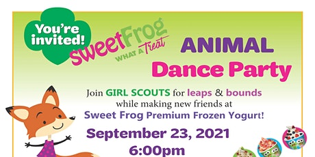 Sweet Frog Animal Dance Party tickets