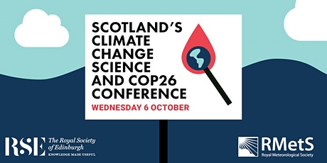 Scotland's Climate Change Science and COP26 tickets