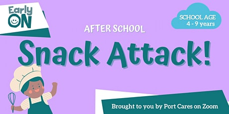 After School Snack Attack - English Muffin Pizzas tickets