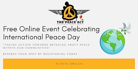 International Peace Day - Youth Violence & Community Resilience Event tickets