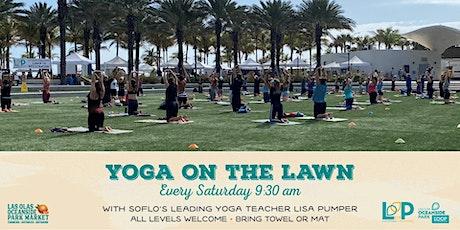 Yoga on the Great Lawn, Farmers Market & Beach @ LO/OP tickets