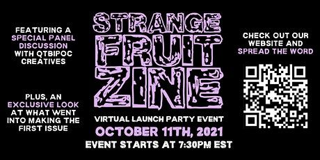 Strange Fruit Zine Official Launch Party tickets