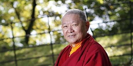 ONLINE: Ringu Tulku Rinpoche: Buddhas Idee von spiritueller Gemeinschaft Tickets