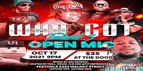 Who Got Talent 3 Featuring Bad Boy Records E Ness tickets