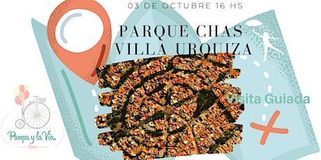 Parque Chas y Villa Urquiza entradas