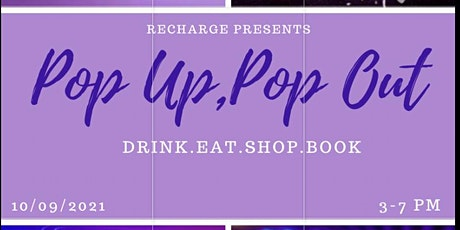 Pop Up Pop Out -ReCharge tickets