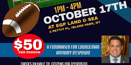 First Responder Tailgate for Councilman Anthony D'Esposito tickets