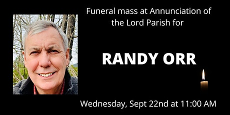 Funeral for Randy Orr tickets