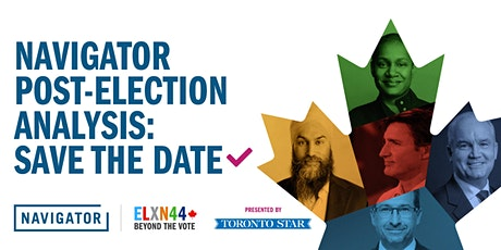 Navigator Post-Election Analysis Live Videocast tickets
