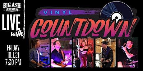Vinyl Countdown Live@ The Big Ash Biergarten! tickets