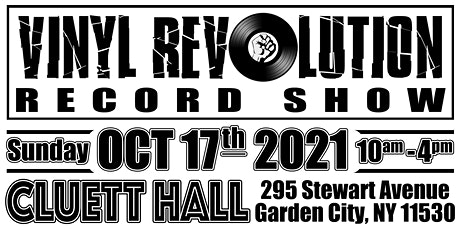 Vinyl Revolution Record Show - Garden City, NY tickets