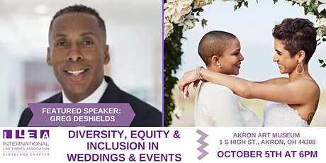 Diversity, Equity, Inclusion in Weddings & Events tickets