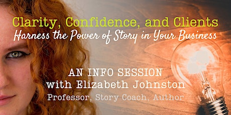 Story in Business Info Session tickets