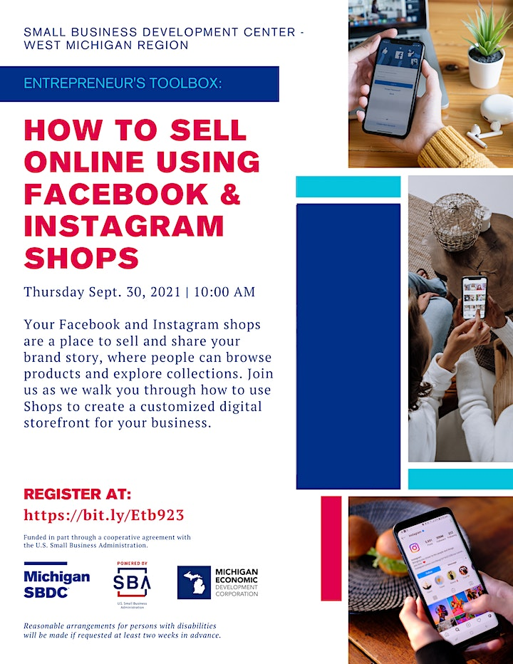 Entrepreneur's Toolbox: How to Sell Online Using Facebook & Instagram Shops image