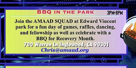 BBQ in the Park (Recovery Event) tickets