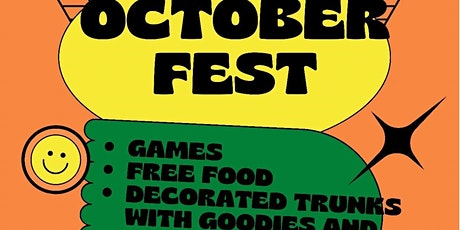 October Fest (It's a trunk or treat) tickets