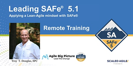 Leading SAFe® with SA Certification - December 6 REMOTE ET tickets