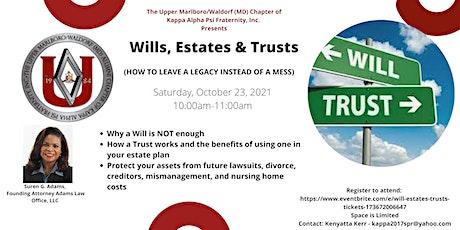 Will, Estates & Trusts tickets