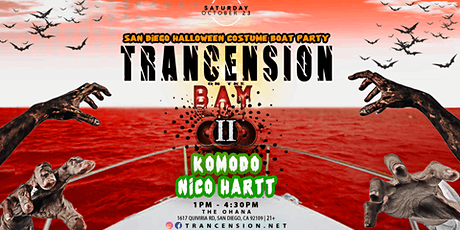Trancension On The Bay tickets